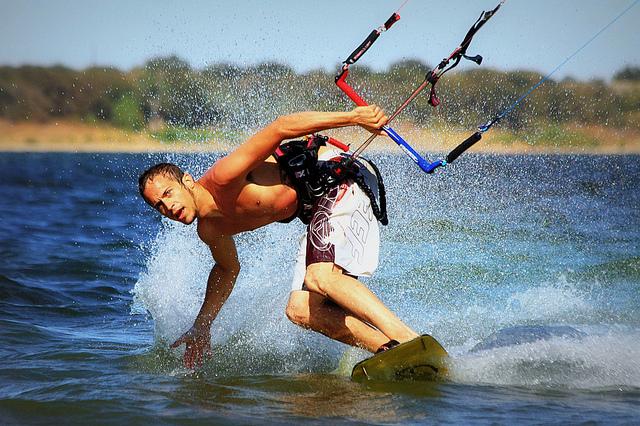 Kite Surfing Success